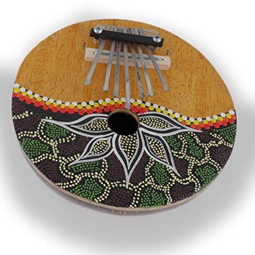 ART-CRAFT MH001 Kalimba Daumenklavier Percussion Instrument aus Kokosnuss und Holz