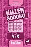 Killer Sudoku - 200 Hard Puzzles 9x9 (Volume 4)