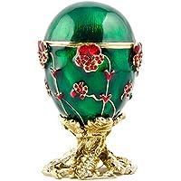 1899 Pansy russo Faberge (Smalto Jeweled Trinket)