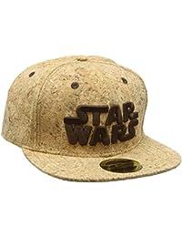 Star Wars Logo Snapback Cap Marrón