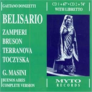 Belisario + Bonus Track Zampieri in Roberto Devere
