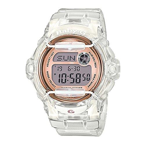 Casio Damas Baby-G Cuarzo: Batería Reloj (Modelo de Asia) BG-169G-7B