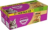 Whiskas Pouch Simply Grilled Meat & Fish Adult Cat Food 85g x 40
