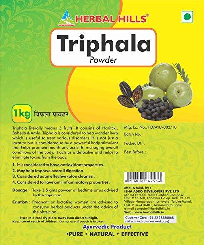 Herbal Hills Triphala Powder – 1kg Pouch