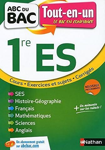 Alain Nicolas - ABC du BAC Tout-en-un 1re