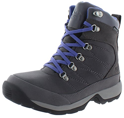 The North Face Chilkat Nylon-Stivaletti da trekking invernale, da donna, taglie varie, Grigio (Gray/Blue Iris),