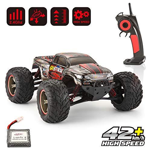 GoStock Ferngesteuertes Auto, RC Auto 1:12 Skala 2,4 Ghz RC Racing Buggy Hohe Geschwindigkeit von High Speed of 42km/h Funkgesteuert Auto Monstertruck Offroad Crawler