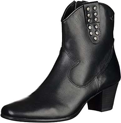 Caprice 9-25303-23 femmes noir cuir Bottine, EU 42