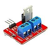 SHAHIDEER IRF520 MOSFET Treibermodul Antriebsmodul SCM für Arduino Raspberry Pi