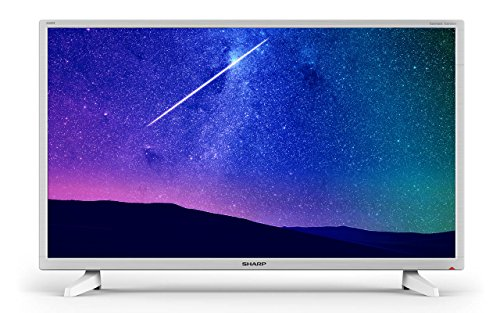 Sharp LC-32HI3221KW 32 Inch HD Ready LED TV with Freeview HD - White (2018 model)