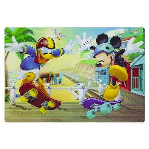 SunCity- Mickey Mantel Plástico 3D 42X28, Multicolor (MMO102554)