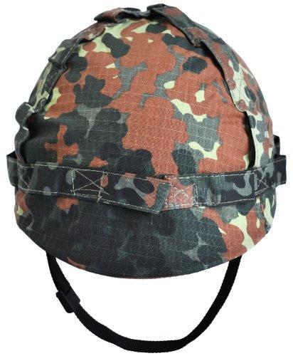 US Helm aus Kunststoff mit Stoffbezug in verschiedenen Farben des Herstellers normani