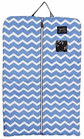 Equine Couture - Portatrajes de viaje multicolor Light Blue/Navy Talla:Estándar