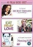 Eat Pray Love / Notting Hill / My Best Friends Wedding [DVD]