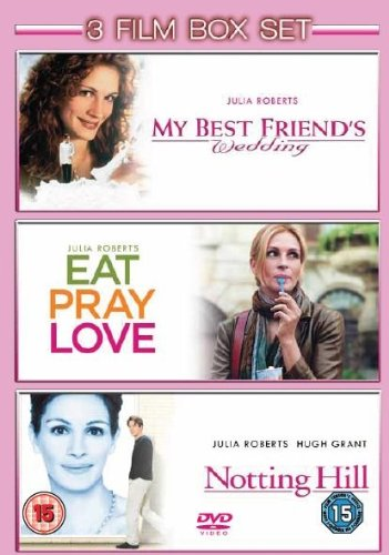 Eat Pray Love / Notting Hill / My Best Friends Wedding [DVD]
