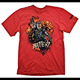 Call of Duty: Black Ops 4 Camiseta L Battery Red