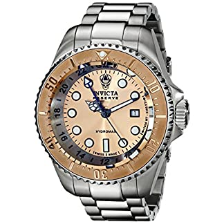 Invicta Men's 16965 Reserve Analog Display Swiss Quartz Silver Watch