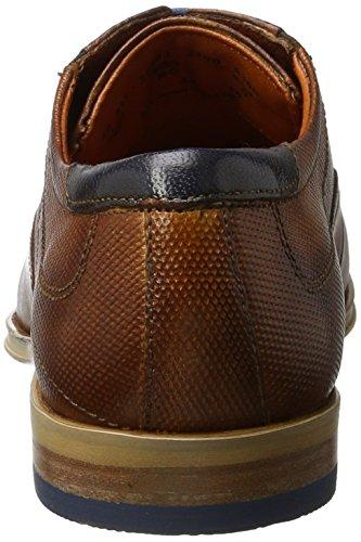 Bugatti Herren 311234032100 Derby Braun (cognac 6300)
