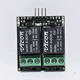 MAKER AND HACKER 5V 2 channel / Two channel Relay Board Module MADE IN INDIA