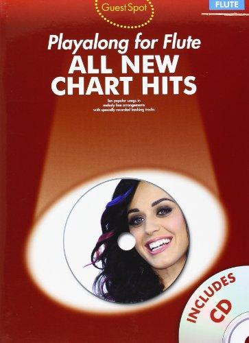 Guest Spot: All New Chart Hits -Flute-: Noten, CD (All New Chart Hits Book & CD) (Bruno Mars Sheet Music)