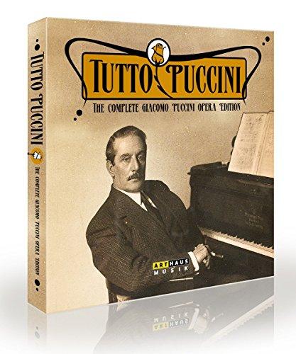 Tutto Puccini / L'intégrale des Opéras - Coffret luxueux 11 DVD [box_set] [Import italien]