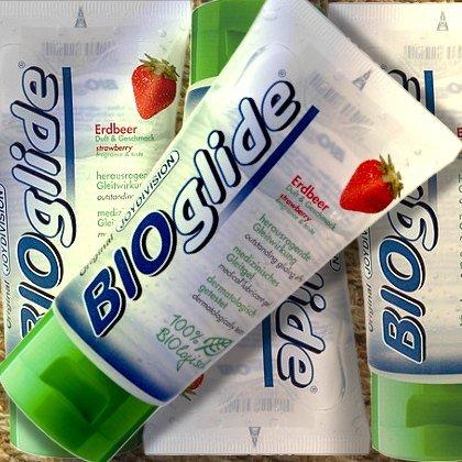 Bioglide ERDBEER, medizinisches Gleitgel, 80 ml