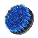 Yunso 4'' Power Peeling Bohrer Pinsel für Reinigung Stein Baren fliesen holzboden Kunststoff Dicken teppich Dickes tuch (Blau)
