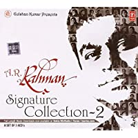 Ecommbuzz A.R Rahman Signature Collection- 3 CD SET, movie DVD