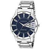 #9: Laurels Invictus Essential Blue Dial Day and Date Wrist Watch - For Men