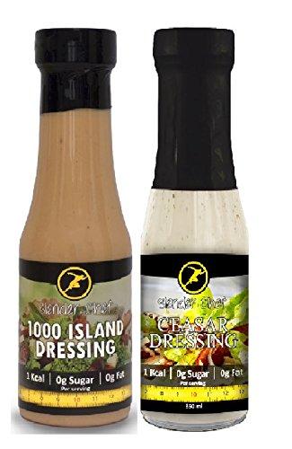 Slender Chef Sauce - Mayonnaise (1000 Island + Ceaser Dressing)