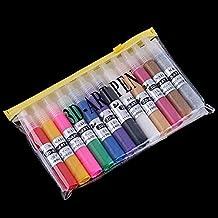 Pixnor Suggerimenti 12 colori Nail penne Gel
