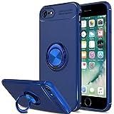 SORAKA Coque pour iPhone 6 Plus iPhone 6S Plus,boitier pivotant à 360 degrés, boîtier pivotant TPU et aimants pour Voiture