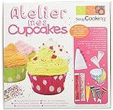 ScrapCooking 3998 Coffret Atelier - Mes Cupcakes Ingrédients, Multicolore, 19,8 x 20,5 x 7 cm