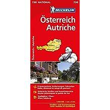Michelin Österreich: Straßen- und Tourismuskarte 1:400.000 (MICHELIN Nationalkarten)