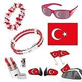 Taffstyle® Fan Set Fanartikel Türkei