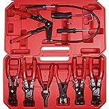 Schlauchklemmenzangen–Set im Koffer 9tlg kfz Werkzeug S