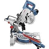 Bosch Professional GCM 800 SJ - Ingletadora telescópica (1400 W, Disco 216 mm, Soft...