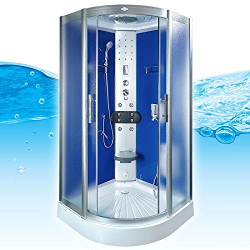 AcquaVapore DTP8058-5212 Dusche Dampfdusche Duschtempel Duschkabine 90x90 XL, EasyClean Versiegelung der Scheiben:2K Scheiben Versiegelung +89.-EUR