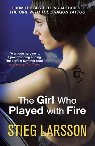 Book cover for The Girl Who Played with Fire