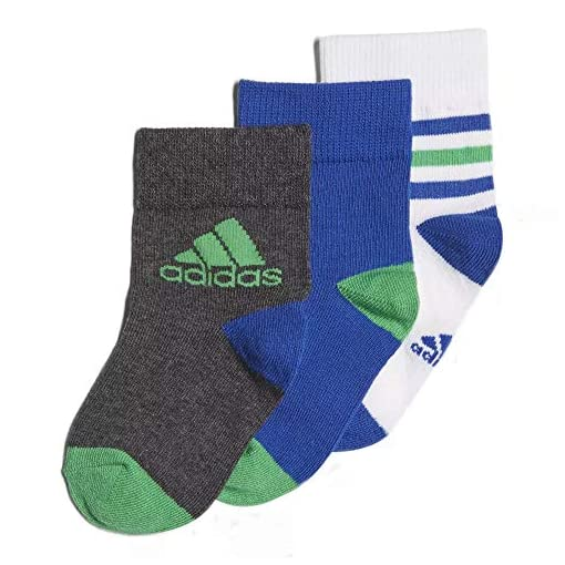 adidas-Childrens-Ankle-Socks-Pair-of-3