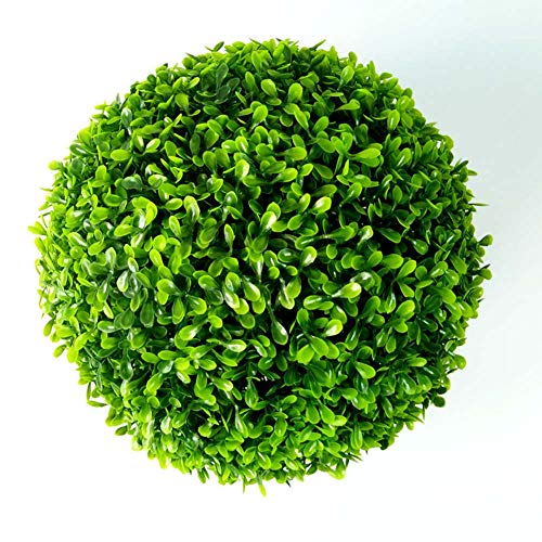 Artificiale Peanut Leaf Ball, Realistico Colore UV Protection, Wedding Manor Garden Lawn Decoration,40Cm