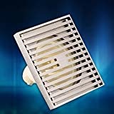 SSBY Déodorant gamme Zippo vidange résistant aux insectes non-corrosif, vidange drain de plancher Panneau 12cm