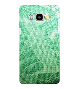 ARTISTIC LEAVES PATTERN DEPICTING THE BEAUTY OF NATURE 3D Hard Polycarbonate Designer Back Case Cover for Samsung Galaxy J5 (2016) :: Samsung Galaxy J510F :: Samsung Galaxy J5 (2016) Duos with dual-SIM card slots