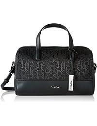 Calvin Klein MARIN4 Logo Duffle, Bolsa para Mujer, Negro (Black), 15x20x30 cm (b x h x t)