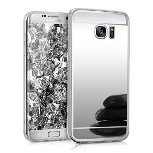 kwmobile-spiegel-hlle-fr-samsung-galaxy-s7-edge-tpu-silikon-case-handy-cover-schutzhlle-in-silber-sp