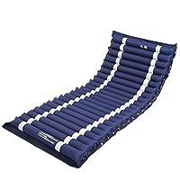 WAOBE Medizinische aufblasbare Matratzen-Ersatz-Standardauflage, die spezielles Anti-Dekubitus aufblasbares Matratzen-Luftkissen-Einzelbett-Bett-Blau... preisvergleich bei billige-tabletten.eu
