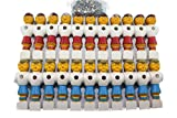 Kickerfiguren Champion 22 Stück komplett mit Schrauben und Muttern
