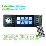 Bluetooth Autoradio mp5 Player 4 Zoll Touch Screen, GPS Navigation Bluetooth Freisprechfunktion CanBus DVD CD Player,Empfänger Eingebauter USB AUX Eingang