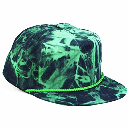 Agora-Tie-Dye-Denim-Fresh-Prince-Snapback-Hat-Mtze