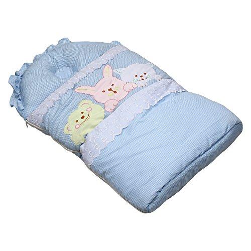 Littly 3-in-1 Baby Sleeping Bag (Blue)